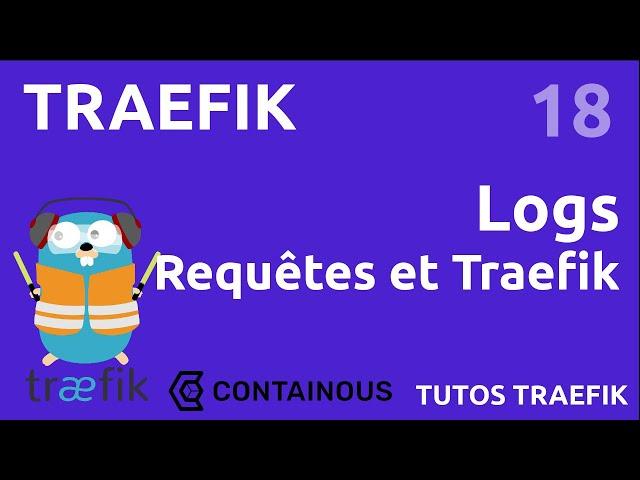 TRAEFIK - 18. LES LOGS : LES DEUX TYPES