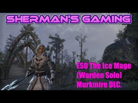 ESO The Ice Mage (Warden Solo) Murkmire DLC.