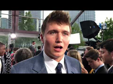 Drew Lock Shows Off Suit, Shoes At 2019 NFL Draft Red Carpet