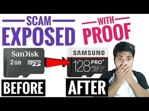 कैसे दुकानदार 2 GB के मेमोरी कार्ड को 128 GB का बनाते हैं| 2Gb become 128Gb