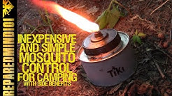 Inexpensive/Simple Mosquito Control For Camping - Preparedmind101