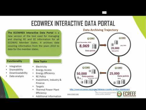 Basic ECOWREX Data Mining Techniques