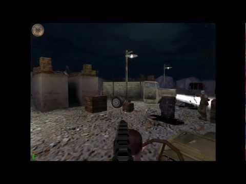 Medal of Honor Allied Assault HD Gameplay Walkthrough Mission 1 - Lighting the Torch