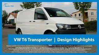 VW T6 Transporter Candy-Weiß   Design Highlights 4k (UHD)