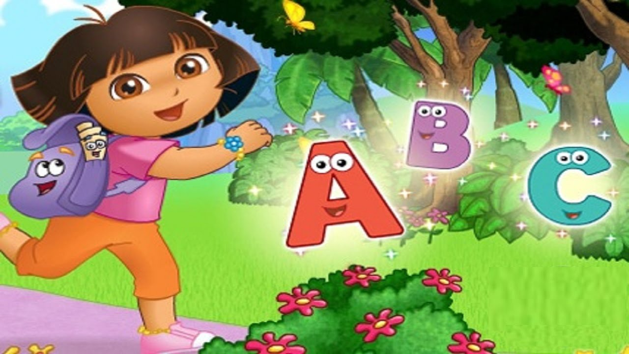 Dora The Explorer Learning Alphabet Games For Children