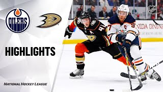 NHL Highlights   Oilers @ Ducks 2/25/20