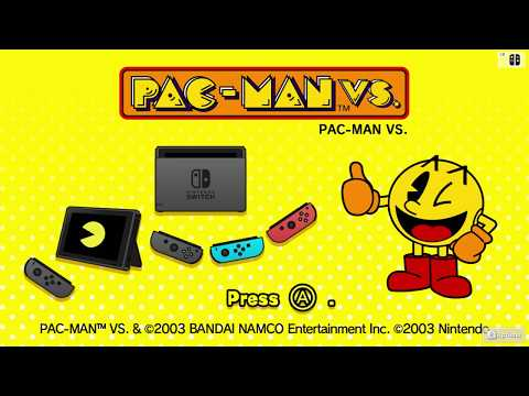 Namco Museum - Pac-Man VS. Single-Player Gameplay [Nintendo Switch Direct-Feed Footage]