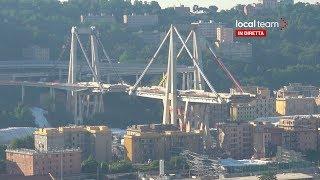 LIVE Demolizione Ponte Morandi, il giorno dell'esplosione: diretta video