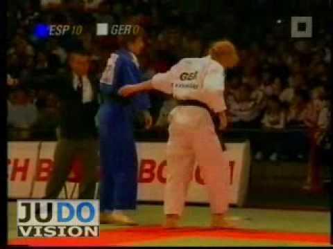 JUDO 1999 World Championships: Ursula Martin (ESP) - Yvonne Wansart (GER)