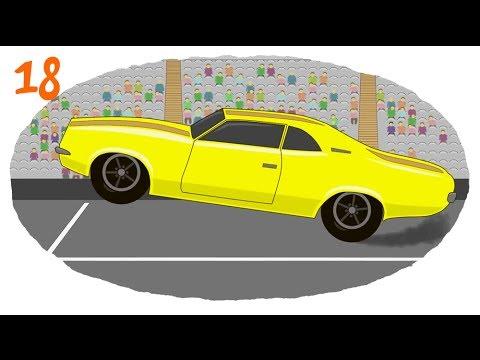Мультики про машинки (Раскраска про гоночные машины ...