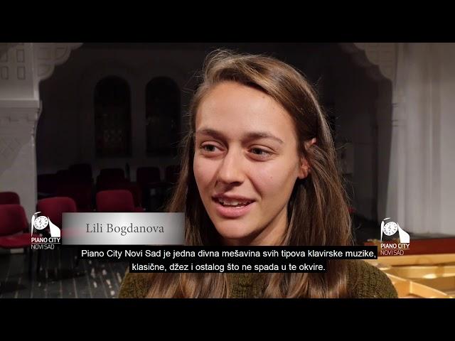 Piano City Novi Sad: Lili Bogdanova