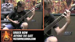 "Wretched ""Cimmerian Shamballa"" (Guitar Demonstration by Steven from Wretched)"