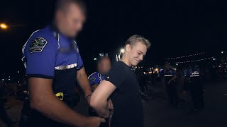 Handcuffed For Offending Someone