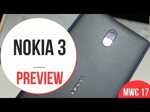 Anteprima Nokia 3 - MWC 2017