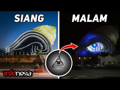 Heboh...!!! 4 Bangunan Mirip Mata D4jj4l Di Indonesia