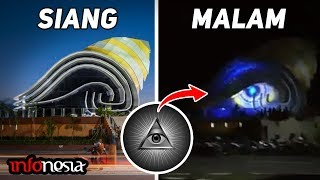 Heboh...!!! 4 Bangunan Mirip Mata Dajjal Di Indonesia