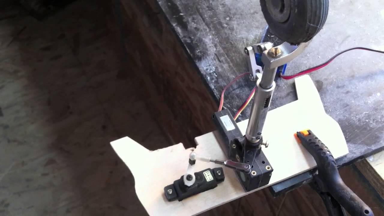 New Retract Steering Setup - YouTube