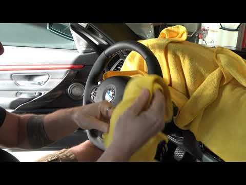 How to clean your alcantara - BMW and more!