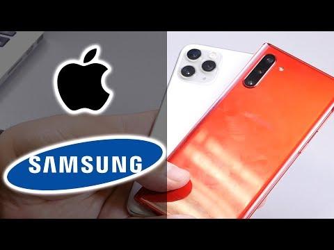 СРАВНЕНИЕ | Samsung Galaxy Note 10 vs Apple iPhone 11 Pro