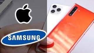 СРАВНЕНИЕ   Samsung Galaxy Note 10 vs Apple iPhone 11 Pro