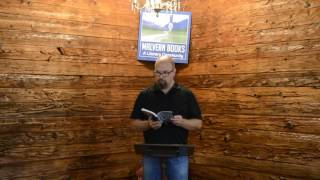 Reading at Malvern Books in May 2016