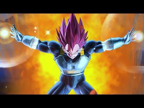 Super Saiyan God Vegeta DLC 9 LEAK! NEW GOD ULTIMATE ATTACK! - Dragon Ball Xenoverse 2
