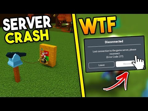 CRASH ANY SERVER! (using Harpoons!) | Build A Boat For Treasure ROBLOX