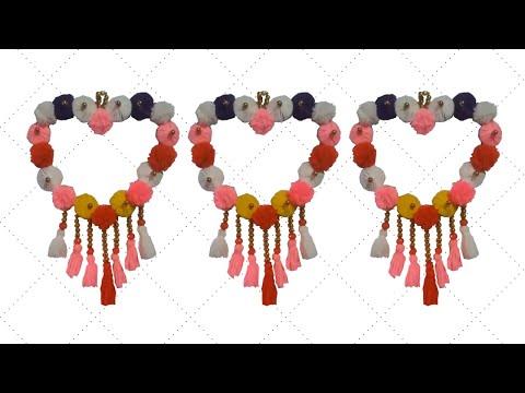 ⚡️ উলের সুতা দিয়ে নাইস আইডিয়া 🌟 wall hanging craft ideas simple