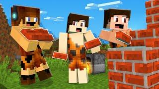 TRANSFORMAMOS BARRO EM TIJOLOS !! - Minecraft Primitivo #05