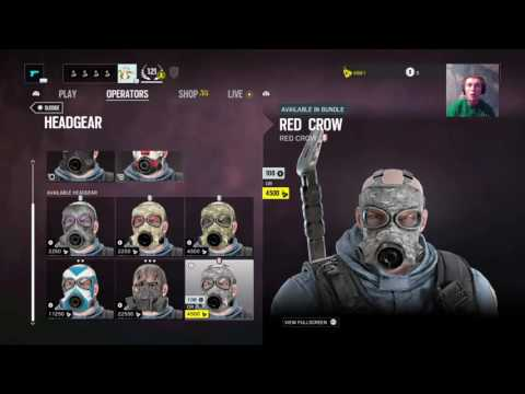 Rainbow 6 siege red crow update with sonic-_-Boom23 Randy