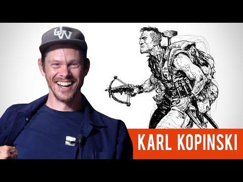 Karl Kopinski Sketching From Imagination