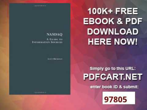 NASDAQ A Guide to Information Sources Research and Information Guides in Business, Industry and Econ