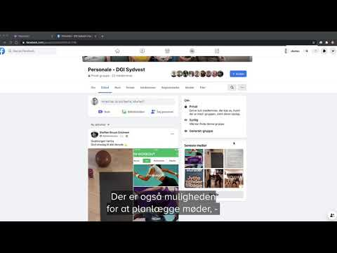 2:4 - digitale platforme til idrætsforeninger - Messenger