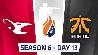ECS Season 6 Day 13 Mousesports vs Fnatic - Dust2