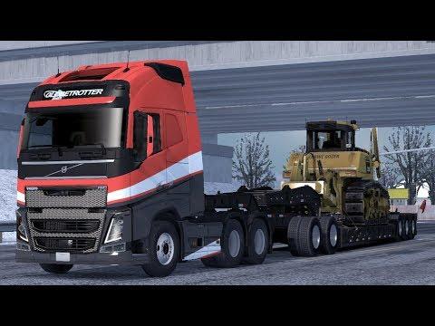 1 33] American Truck Simulator | Volvo FH16 Trucks for ATS