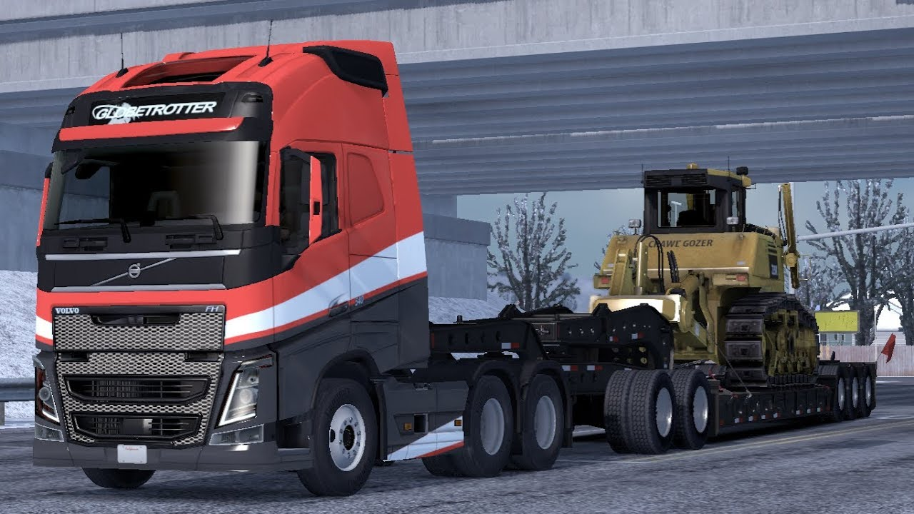 [1 33] American Truck Simulator | Volvo FH16 Trucks for ATS – by Frkn64 |  Mods