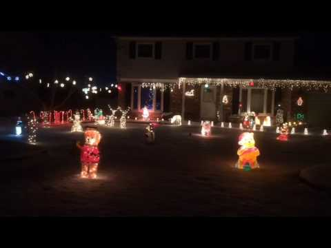 Spectacular Christmas lights of Saginaw County: 1557 Kingston in Saginaw Township