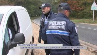 Police municipale : des pistolets à assistance électrique à Voisins-le-Bretonneux