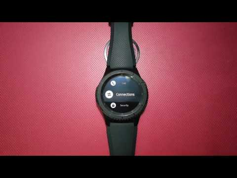 How To Turn On Or Turn Off NFC On Samsung Gear S3