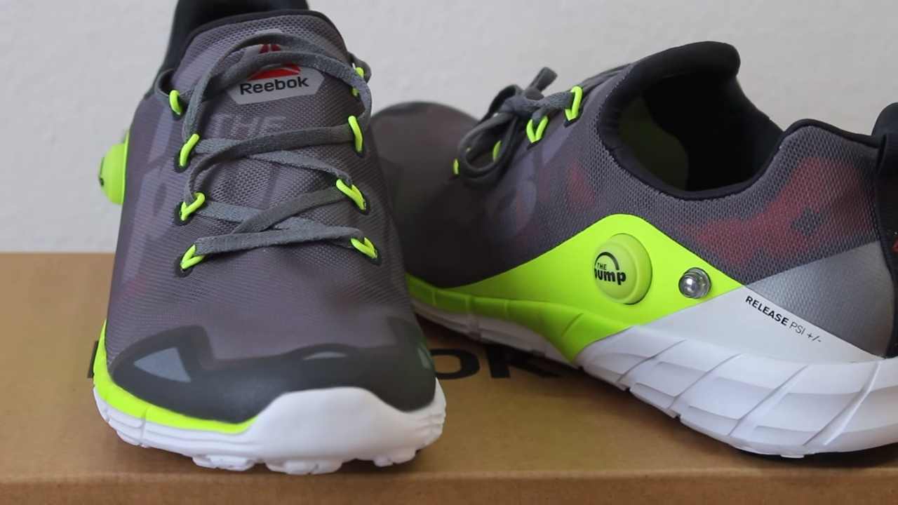 3801cc1ddcf0b7 The Pump Reebok ZPump Fusion 2.0 Unboxing and Review - YouTube