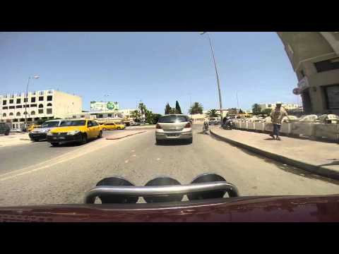 Driving in Sousse 2015