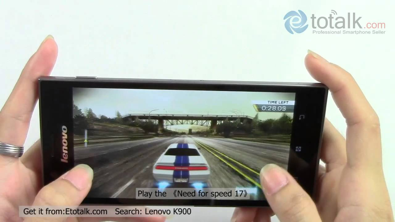 Lenovo K900 Video And The Game Play Youtube