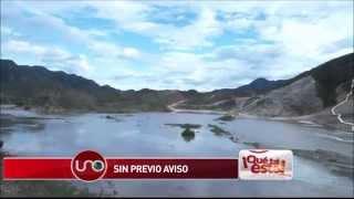 Llenaron sin previo aviso la represa de El Quimbo