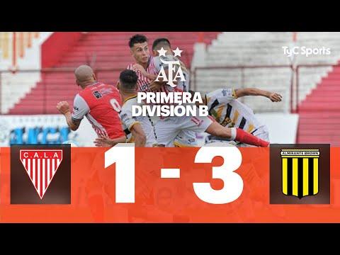 Los Andes 1 vs. Almirante Brown 3 | Fecha 8 | Primera División B 2019/2020 from YouTube · Duration:  4 minutes 3 seconds