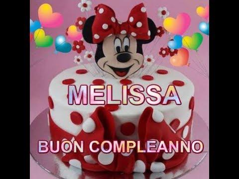 Buon Compleanno MELISSA 12 Dicembre tantissimi auguri per i tuoi meravigliosi 4 anni