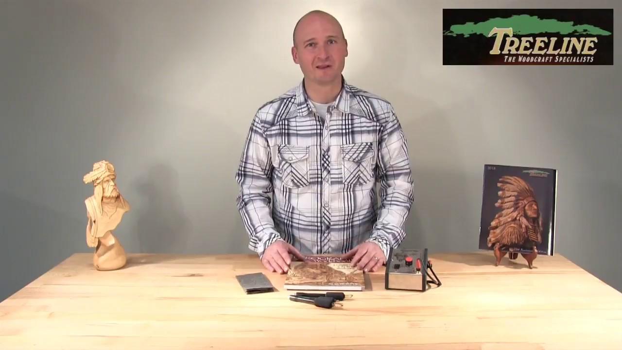 How Use the Complete Razertip Woodburning / Pyrography Starter Set -  TreelineUSA com