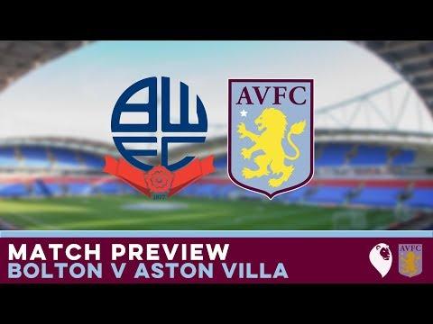 MATCH PREVIEW   Bolton v Aston Villa