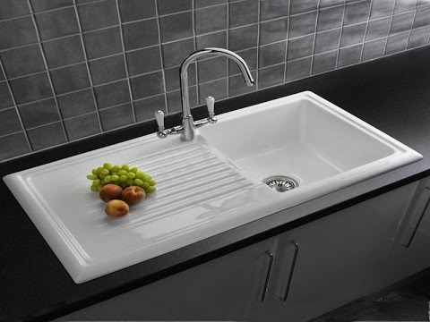 Modern kitchen sink design youtube for Contemporary kitchen sinks ideas