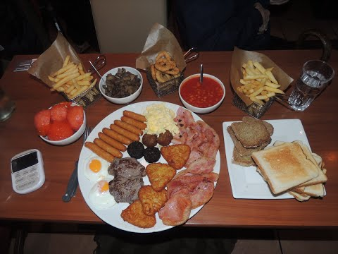 "FULL IRISH ""GODFATHER"" BREAKFAST CHALLENGE!!"