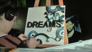 DREAMS ~ quilling technic (speed video)